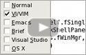 Screencast: VI/Vim, Emacs, Visual Studio, OS X, and Brief Emulation (0:21)
